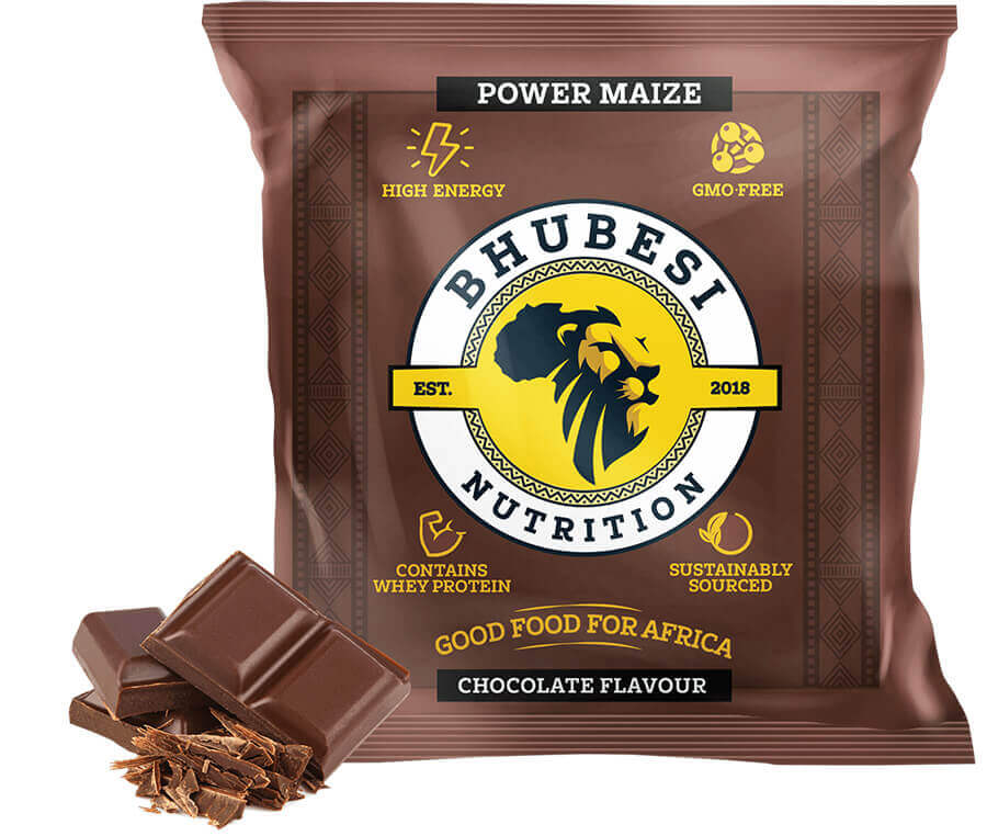 Bhubesi Nutrition - Power Maize - Chocolate Flavour Ready-made Meal